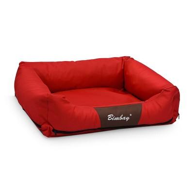 Legowisko kanapa czerwona