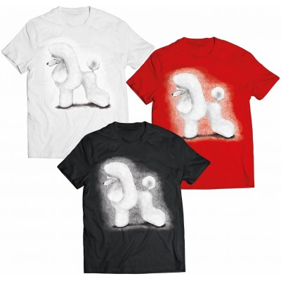 Koszulka Pudel biały