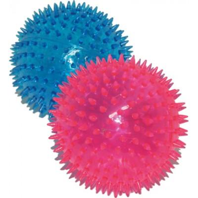 Piłka LED 12,5 cm z kolcami