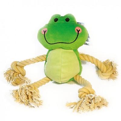 Pluszowa żaba ze sznurem