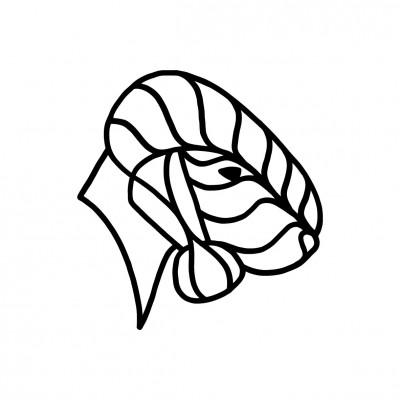 Dekor Bedlington terier