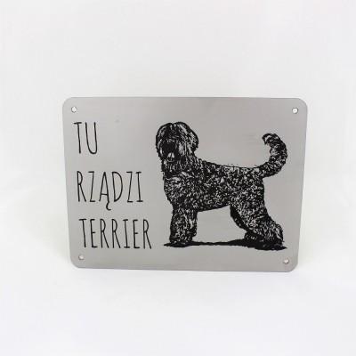 Tabliczka Terrier rosyjski