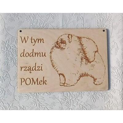 Tabliczka dom Pomeraniana
